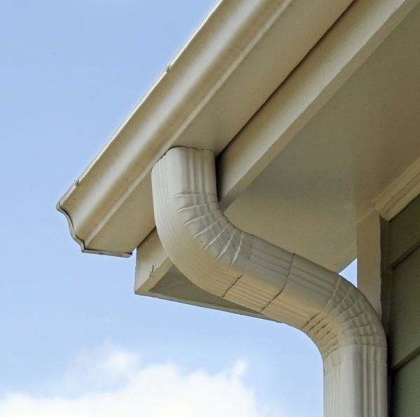Downspouts installed by Industry Elite Services