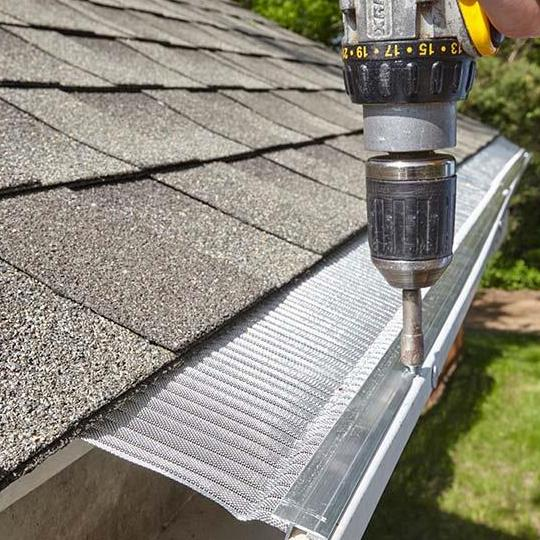 Gutter Guard Installed by Industry Elite Services