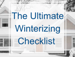 The Ultimate Winterizing Checklist